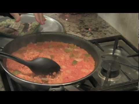 Easy Healthy Spanish Rice Recipe | Homemade With Brown Rice by Rockin Robin