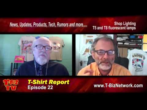 T-Shirt Report Episode 22 Featuring Scott Fresener and Richard Greaves
