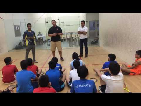 CCI SQUASH ACADEMY- Talk by Chris (US University coach)