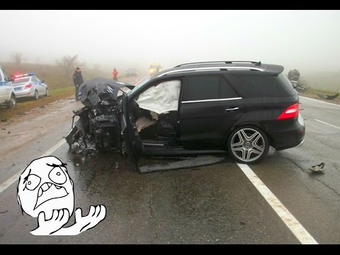 New MERCEDES BENZ CRASH Compilation - Best Mercedes Accident ML E CL CLS S GL