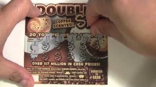 $2 Double Shot Instant Scratch off ticket PA Lottery