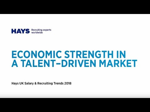 Hays Ireland Salary & Recruiting Trends 2018