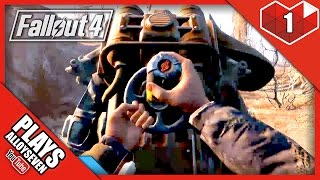 FALLOUT 4 FULL GAMEPLAY: Power Armor Combat - Fallout 4 Free Roam PC ULTRA - Part 1