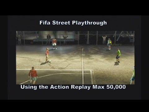 Fifa Street England Vs Brazil One Level Playthrough Using The Ps2 Action Replay Max 50,000 :D