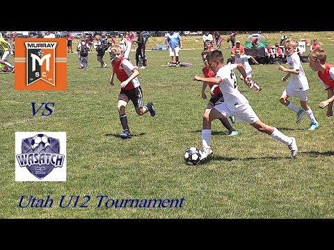 Murray JS vs Wasatch JS - U12 Tournament Soccer