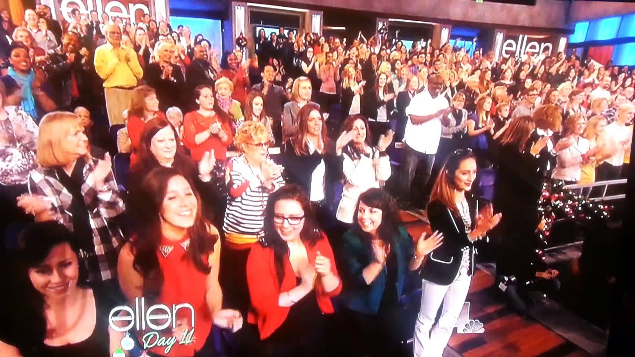 Ellen 12 Days Of Giveaways Audience