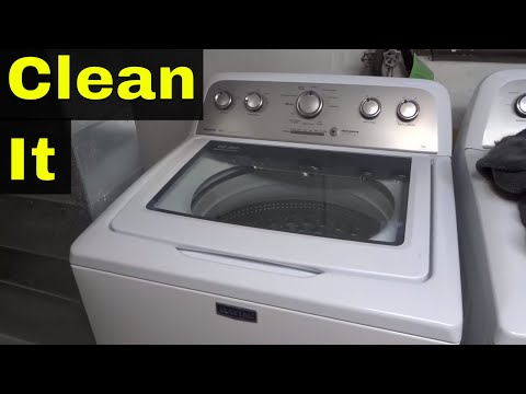 How To Clean Your Washing Machine-Easy And Naturally