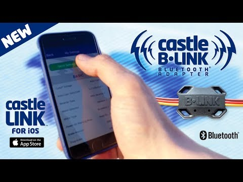 NEW  B•LINK™ BLUETOOTH® ADAPTER From CASTLE CREATIONS