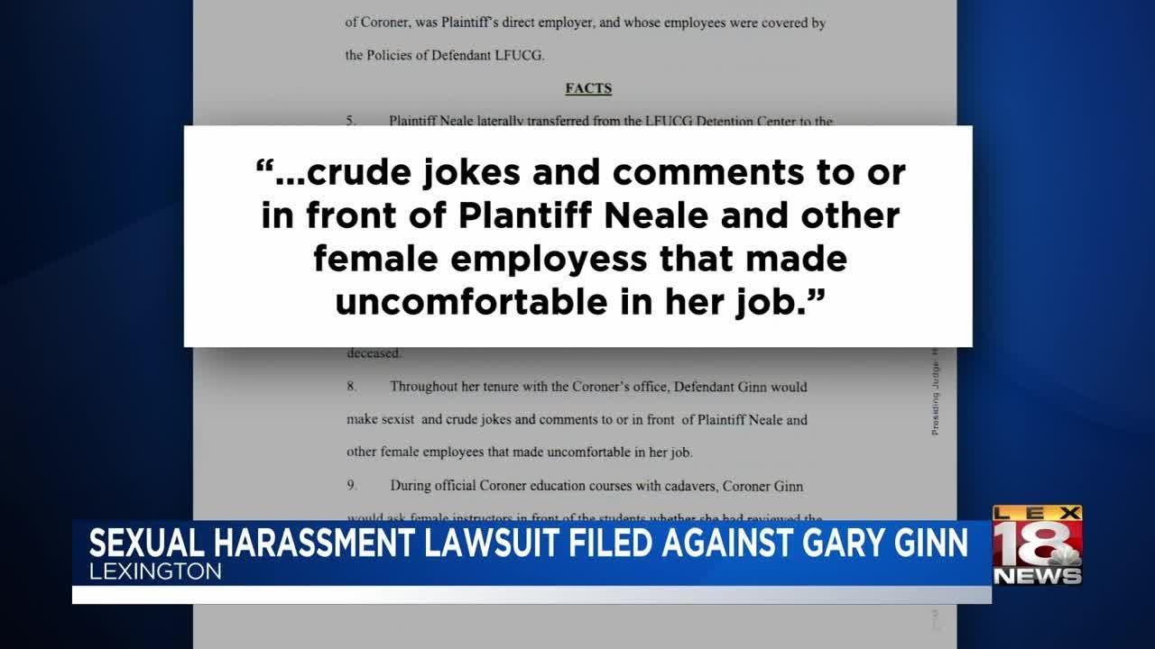 Sexual harassment lawsuit