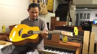 [Unboxing] Đập hộp đàn Guitar size nhỏ YAMAHA JR1  |  PianoFingers.vn