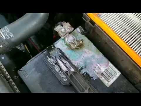 Battery Corrosion Causing a car not to Start Properly -How to Fix the Issue and Clean the Corrosion