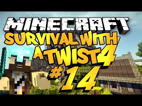 Minecraft Survival with a Twist 4 #14 (Desert Temple)