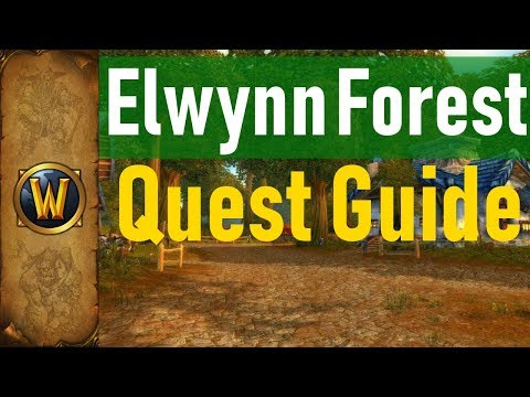 Elwynn Forest ALL Quests | WoW Classic: Quest Guide Video