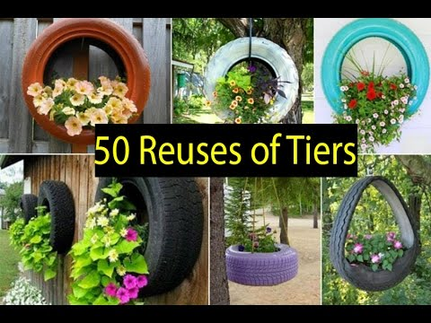 50 ideas of how to reuse and recycle old tires youtube