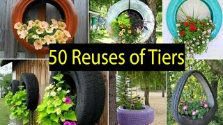 Video 50 Ideas of How To Reuse And Recycle Old Tires download MP3, 3GP, MP4, WEBM, AVI, FLV Agustus 2018