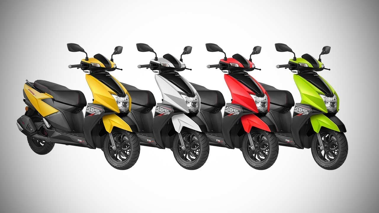 Tvs Ntorq 125 Scooter All Colors Features Autobics Youtube