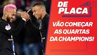 PSG (com MBAPPÉ) x ATALANTA pelas QUARTAS da CHAMPIONS; ATLÉTICO-GO x FLAMENGO | De Placa (12/08/20)