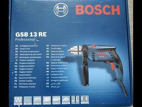 BOSCH GSB 13 RE Ударная дрель