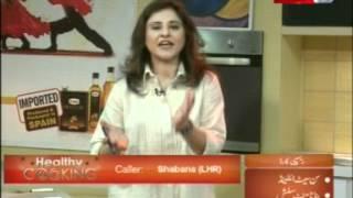 ''healthy Cooking'' - Ep# Sunset I Land - Banana Mint Slush Part-3/4 (30-apr-12) Health Tv.mpg