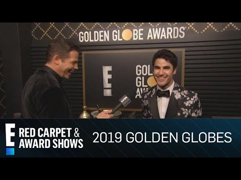 Darren Criss Cheers to His 2019 Golden Globe Award | E! Red Carpet & Award Shows