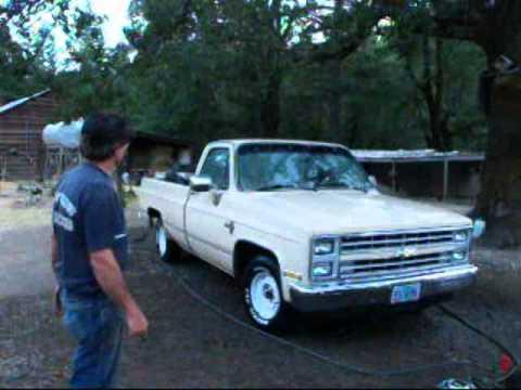 85 Silverado Saga. Exterior Clean, Redneck Restorations