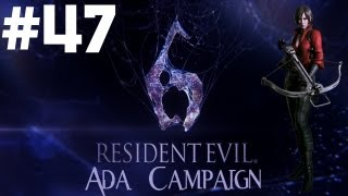 Resident Evil 6 - Walkthrough - Part 47 - [Ada Campaign] - I Hate Bees