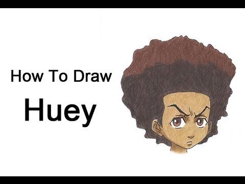 How to Draw Huey Freeman (The Boondocks) thumbnail