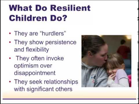 Developing Resiliency in Young Military Children: The Role of Early Learning Professionals