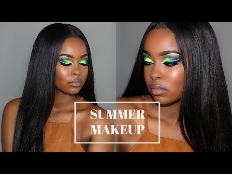 Summer Makeup Tutorial BROWN/DARK SKIN | PRIDE MONTH Tribute | Pitts Twins