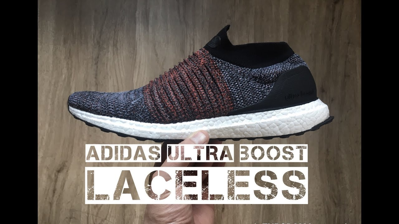 942d32645 Adidas Ultra Boost Laceless  Core black footwear white