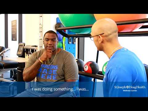 Donovan Carter at the Irvine Wellness Center - 4 of 6