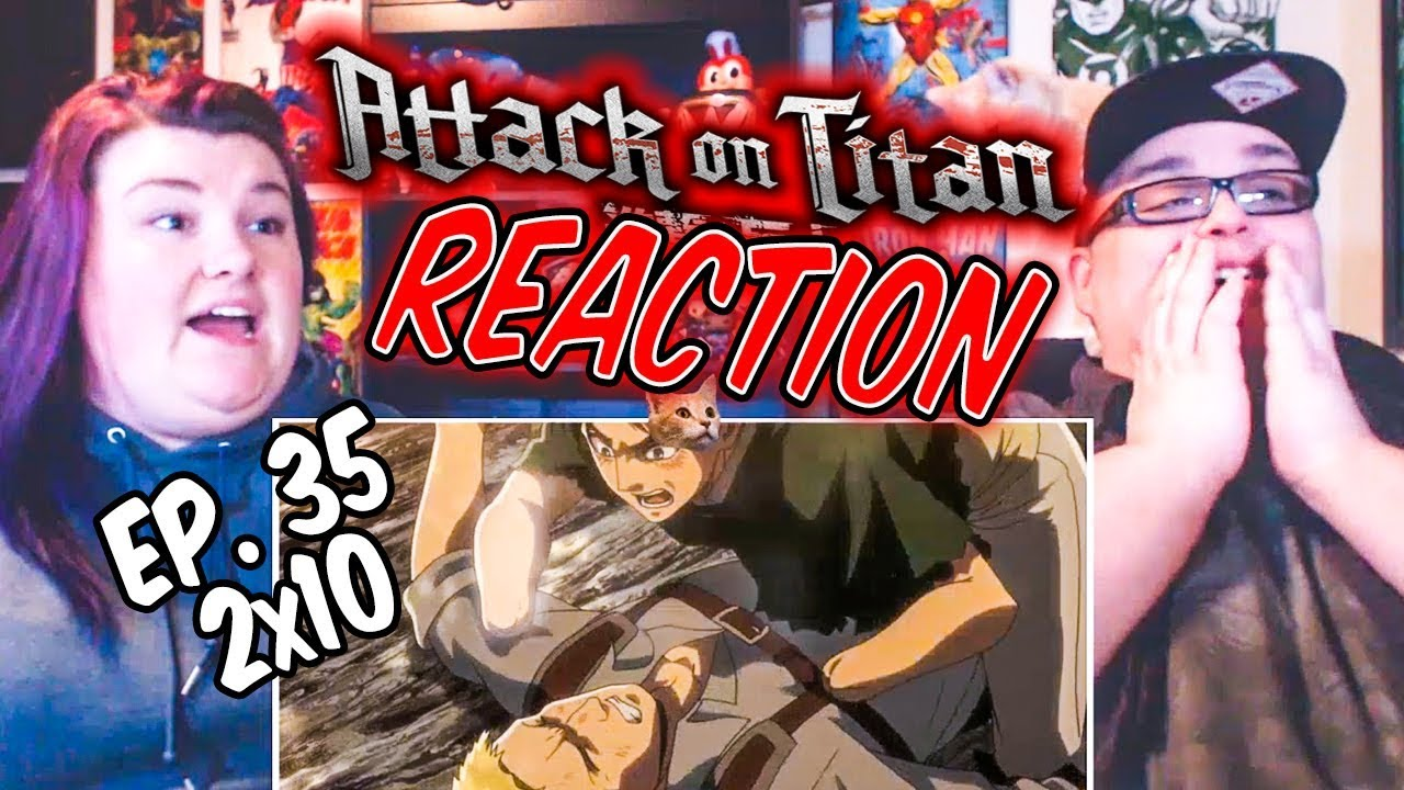 "Download Attack on Titan Episode 35 (2x10) ""Children"" REACTION!!"