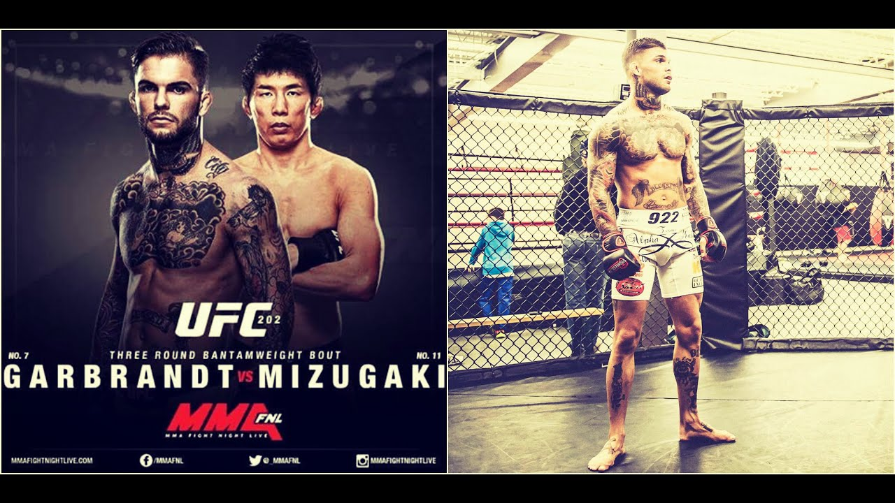 cody garbrandt training for takeya mizugaki at ufc 202 youtube