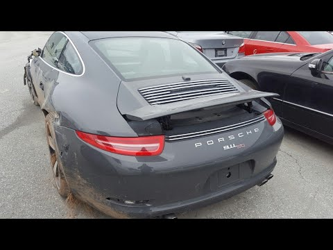 Searching For Porsche & BMWs At Copart / 2014 Porsche 911 Carrera 50 /Cheap 2015 BMW F30