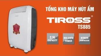 [ENTERBUY] Máy hút ẩm Tiross TS885 công suất 20 lít/ngày - Balan