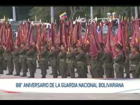 80 años de la Guardia Nacional Bolivariana, evento completo con el Pdte Maduro