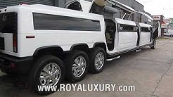 2018! Cool Triple Axle H2 Hummer JET DOOR limo in NYC