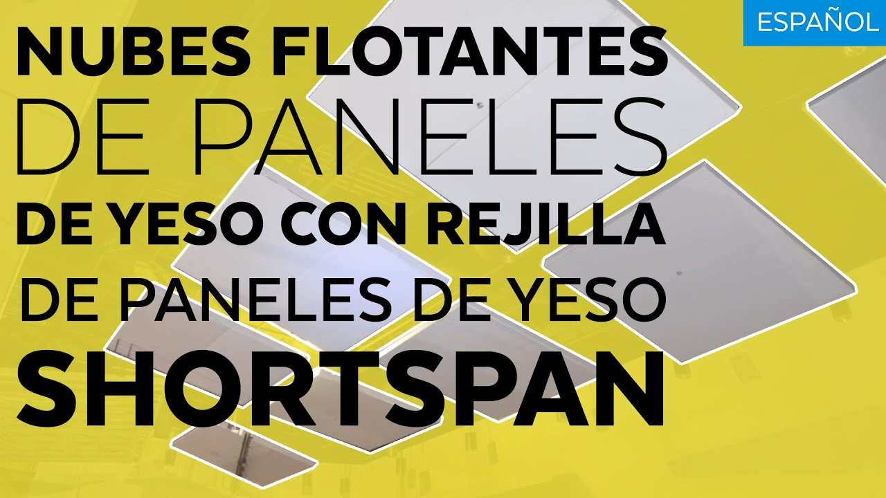 Spanish Floating Drywall Clouds With Shortspan Drywall