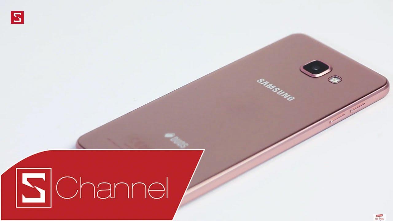 Schannel – Mở hộp Galaxy A7 2016 Pink Gold: Lựa chọn hồng cá tính đón Tết