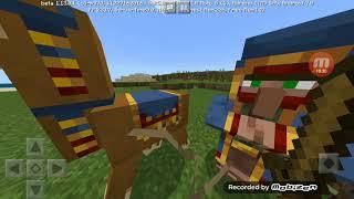 Alexant island construimos un búnquer y lobo agresivo de sant Minecraft# 6