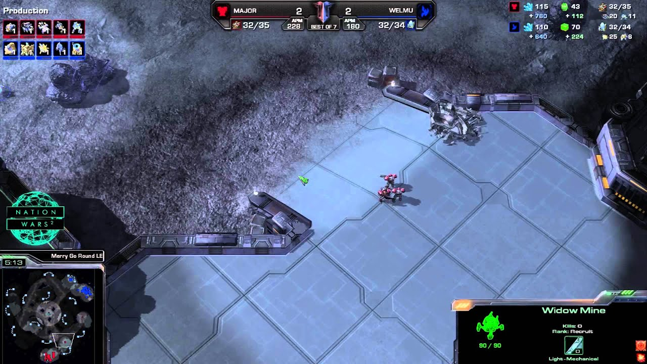 Mexico vs. Finland - Game 5 - StarCraft 2