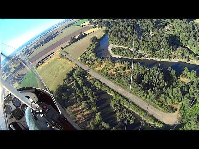 Found a Secret Airstrip along the North Santiam River