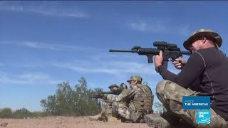 US volunteer militia taking border control into their own hands