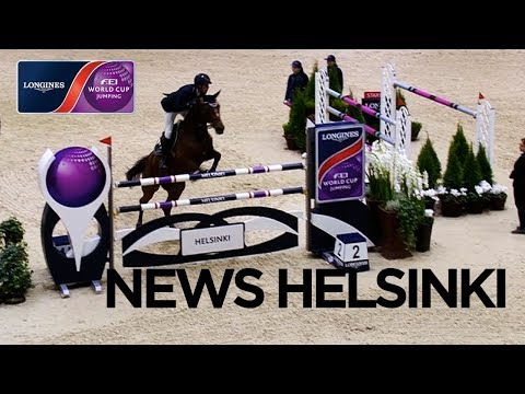 Extremely close Jump-Off in Helsinki - Longines FEI World Cup™ Jumping