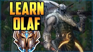 How to Play Olaf Jungle LIKE A PRO IN 11 MINUTES - Olaf Jungle Commentary Guide - League of Legends
