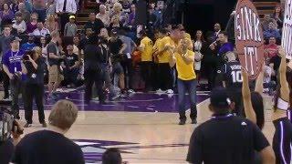 Fan Hits Half-Court Shot to Win a New Car in Sacramento!