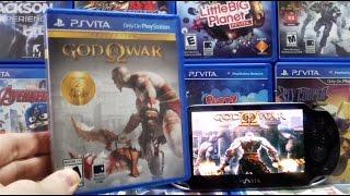 PS Vita God of War Gameplay