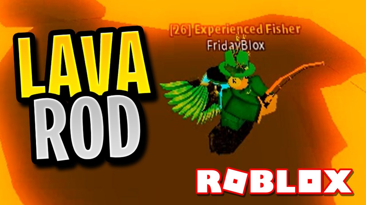How To Complete The Lava Obby And Get The Lava Rod In Fishing