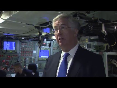 Why does the UK need a nuclear deterrent? Defence Secretary Michael Fallon explains