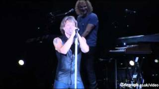 Rihanna and Bon Jovi: Livin on a Prayer